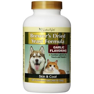 Brewers Yeast Tablets with Garlic for Dogs