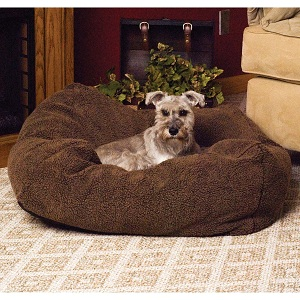 K H Cuddle Snuggle Cube Dog Bed with washable cover.