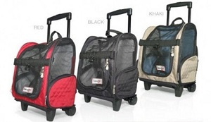 Rolling Pet Carrier, Airline Approved