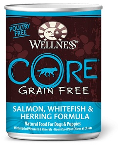 Wellness Grain Free Canned Dog Food for Adult Dogs